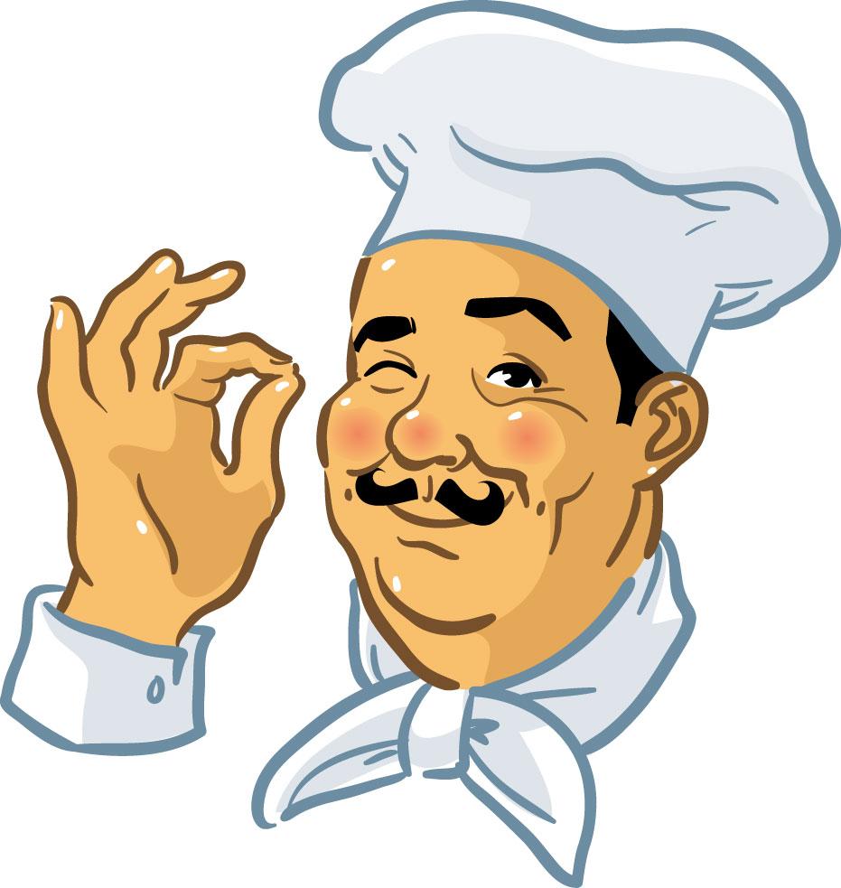 Chef Food Clip Art