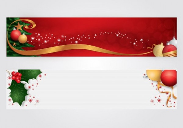 11 christmas banner psd images free psd banner templates for Christmas decoration websites