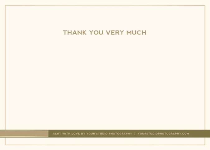 Client Thank You Cards Template