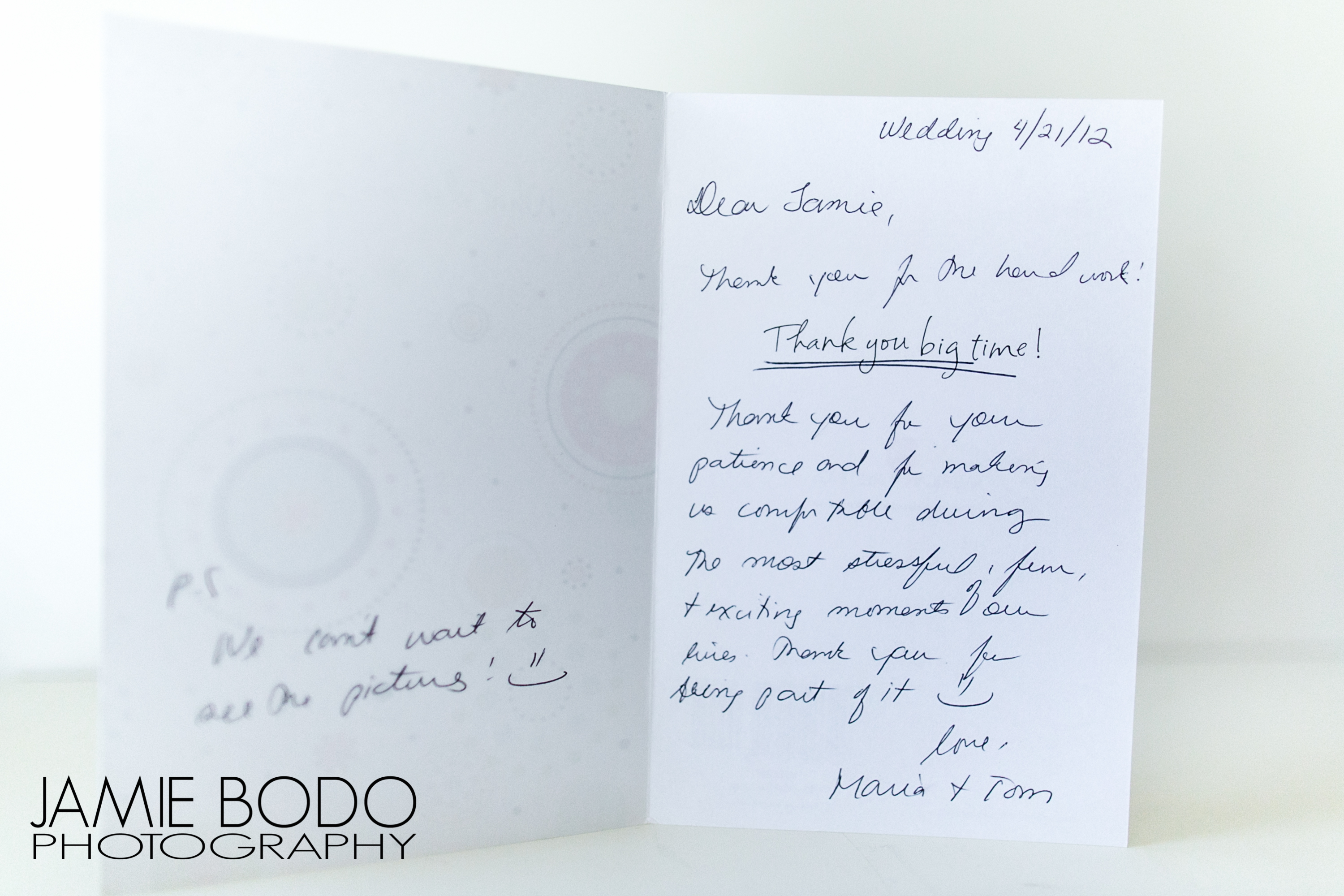 Client Thank You Cards