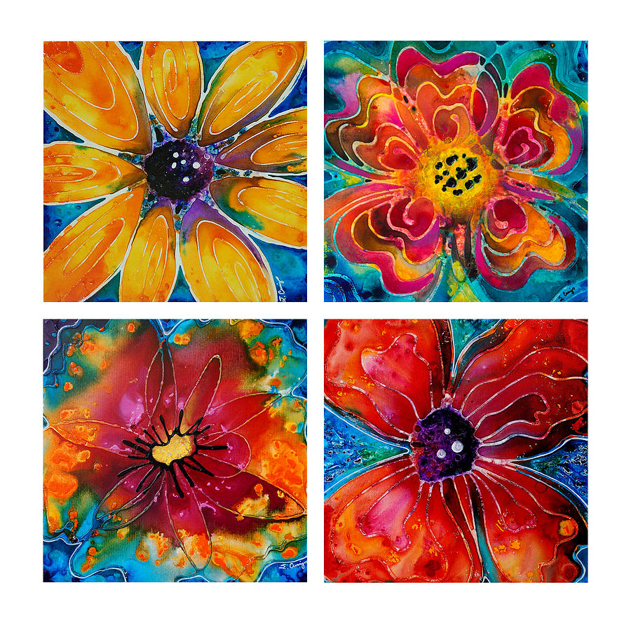 14 Colorful Flower Graphics Images