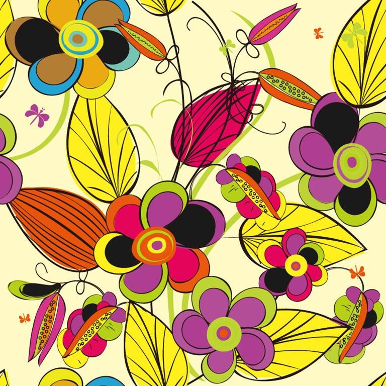 Colorful Flower Vector Illustration