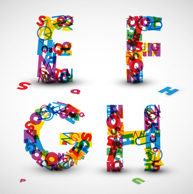 Creative Letter Designs Alphabet
