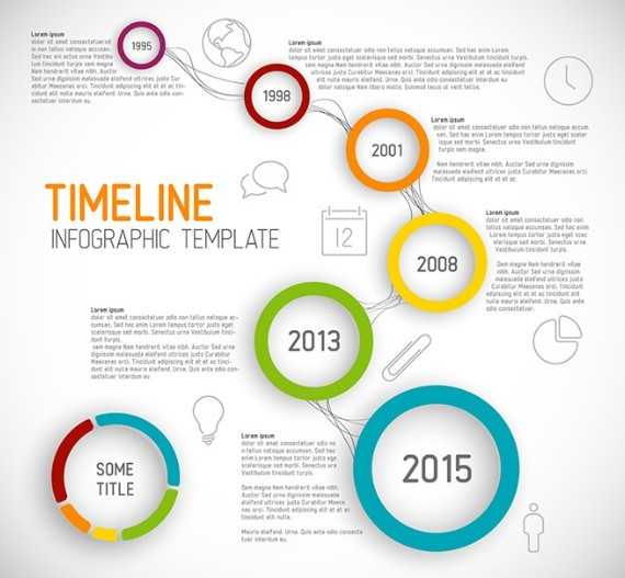 Creative Timeline Templates Free