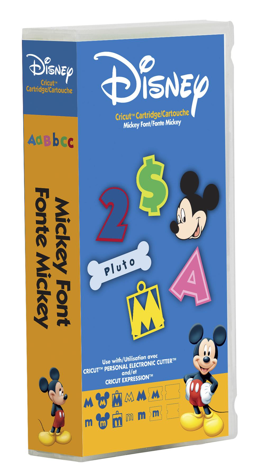 13 Disney Font Cartridge Cricut Images - Cricut Disney
