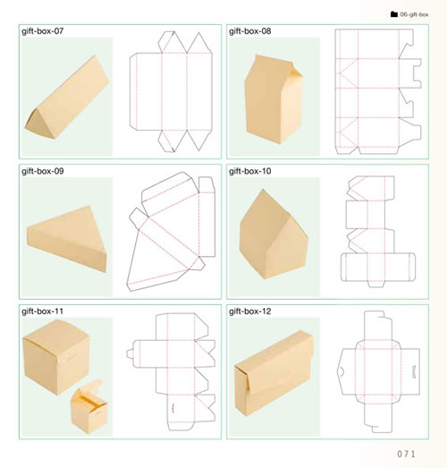 DIY Gift Boxes Templates