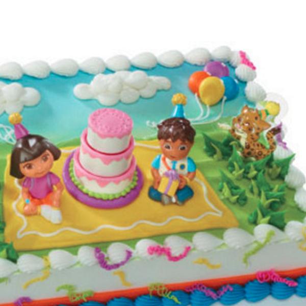 Dora Diego Birthday Cakes