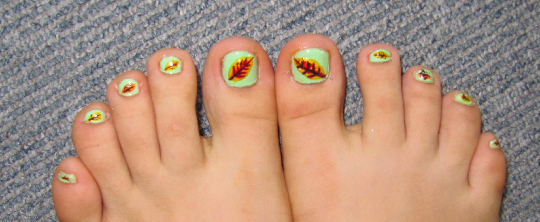 Easy Fall Nail Art Designs Toenails