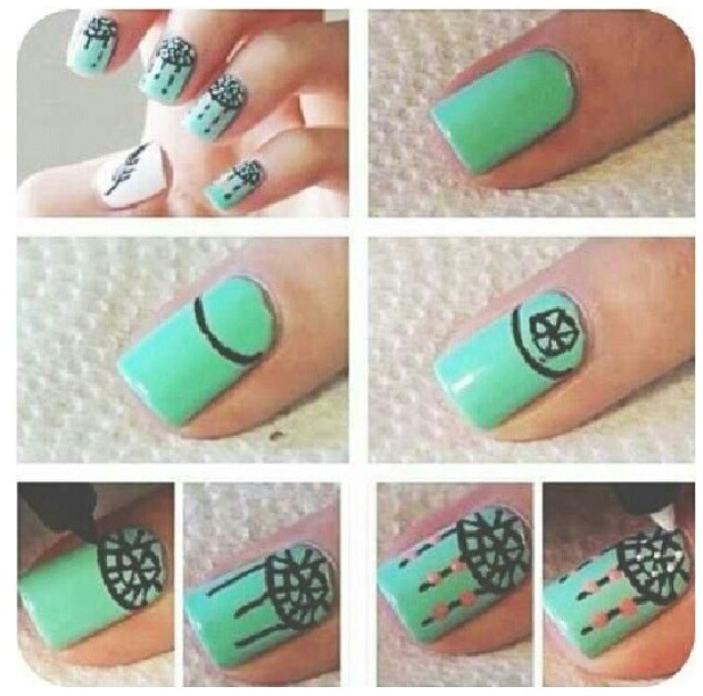 15 Cute Nail Art Designs Step By Step Images