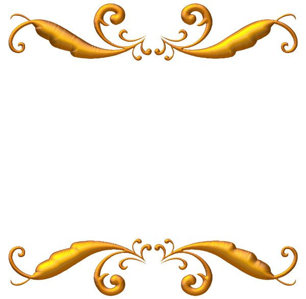 Elegant Gold Borders and Frames