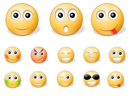 Email Smiley Faces Emoticons