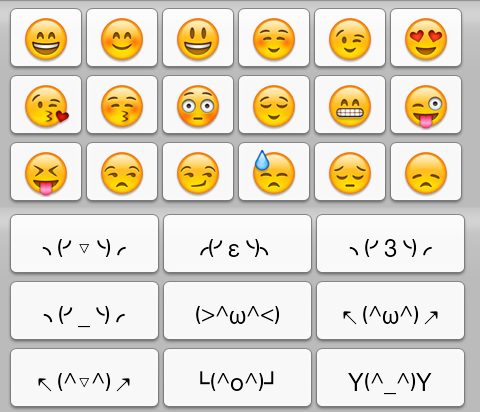 14 Typed Smiley Emoticons Images - Smiley-Face Symbols for ...