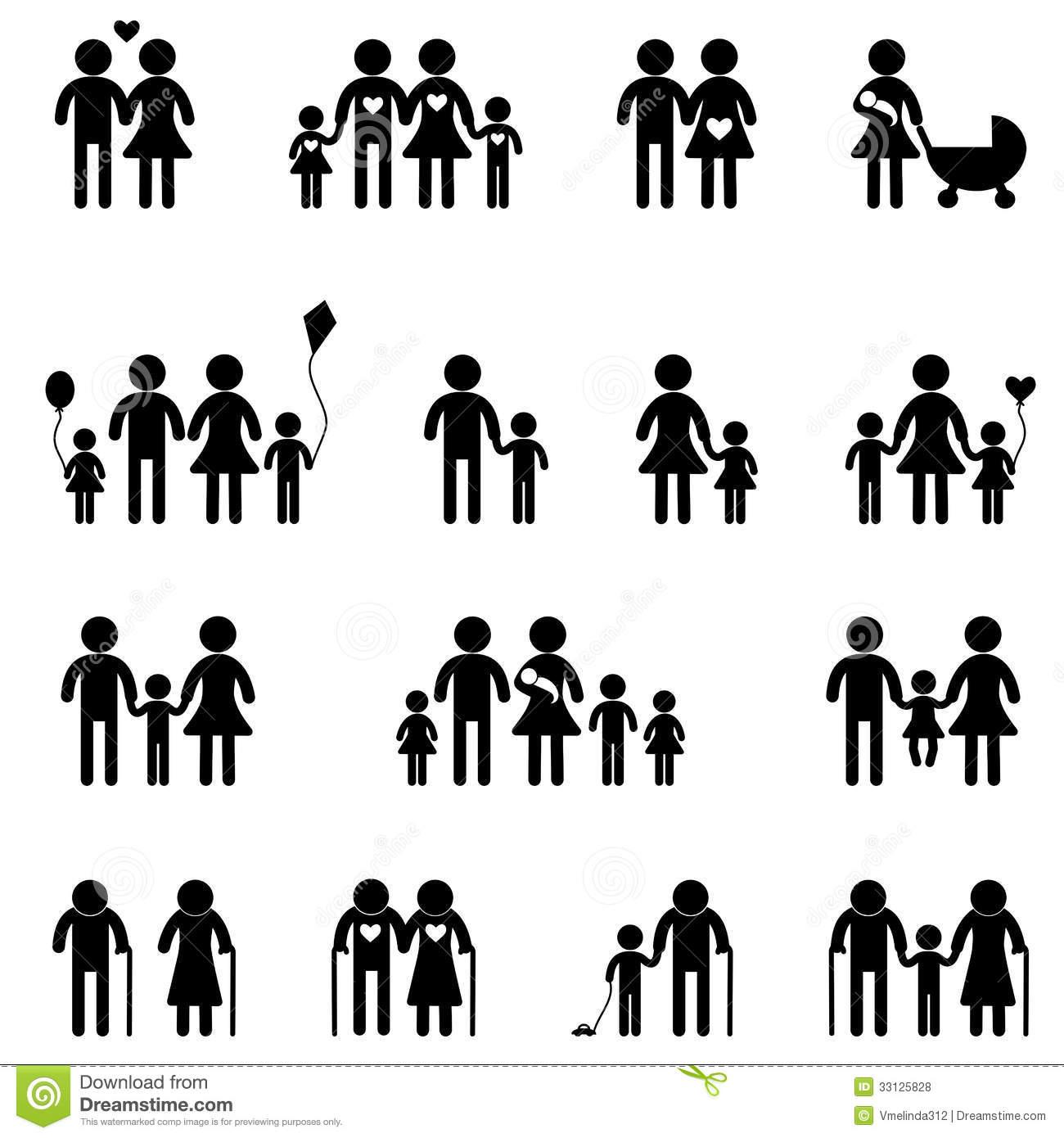 Family Icons Free