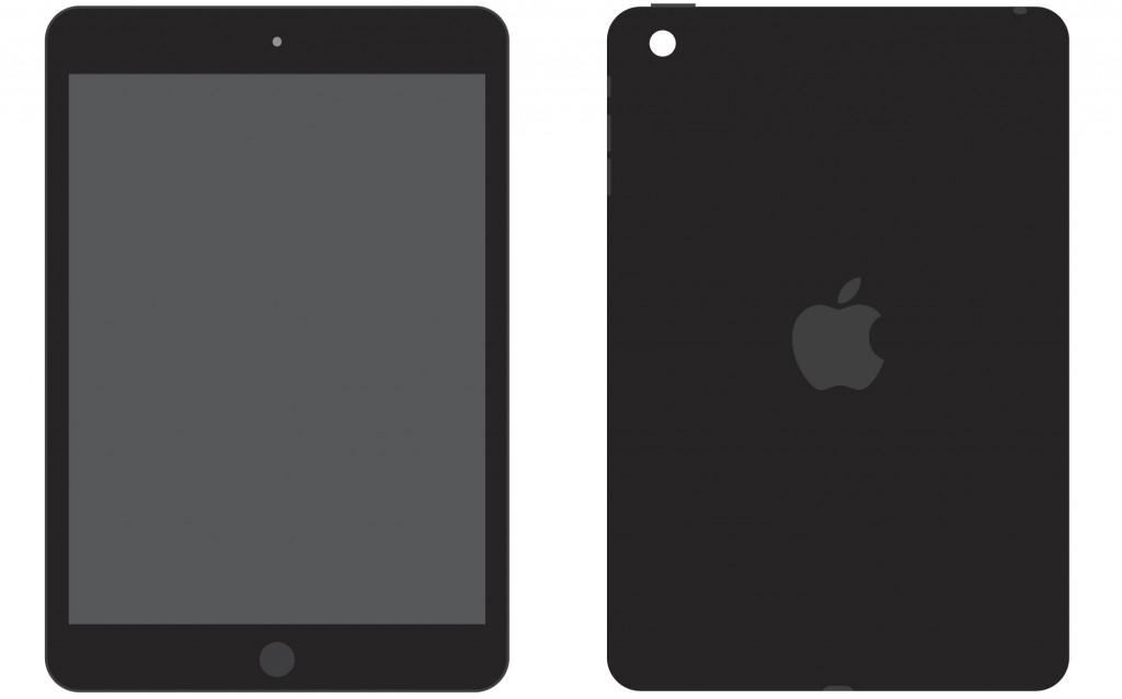 Flat iPad Vector