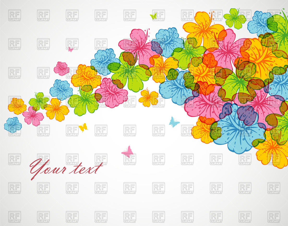Flower Clip Art with Transparent Background