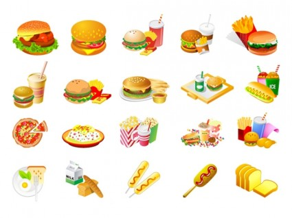 18 Free Vector Food Clip Art Images