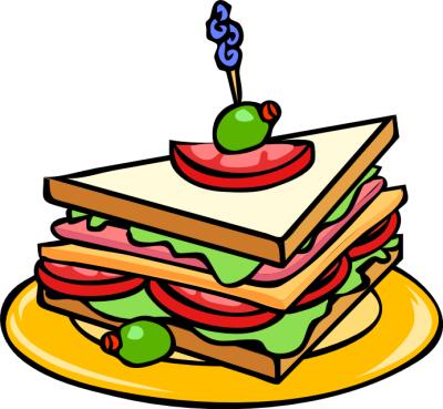 Free Clip Art Food Sandwich