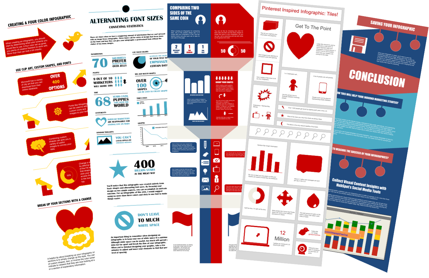 12 Free Infographic Templates Images