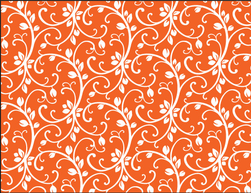 Free Orange Vector Background Patterns