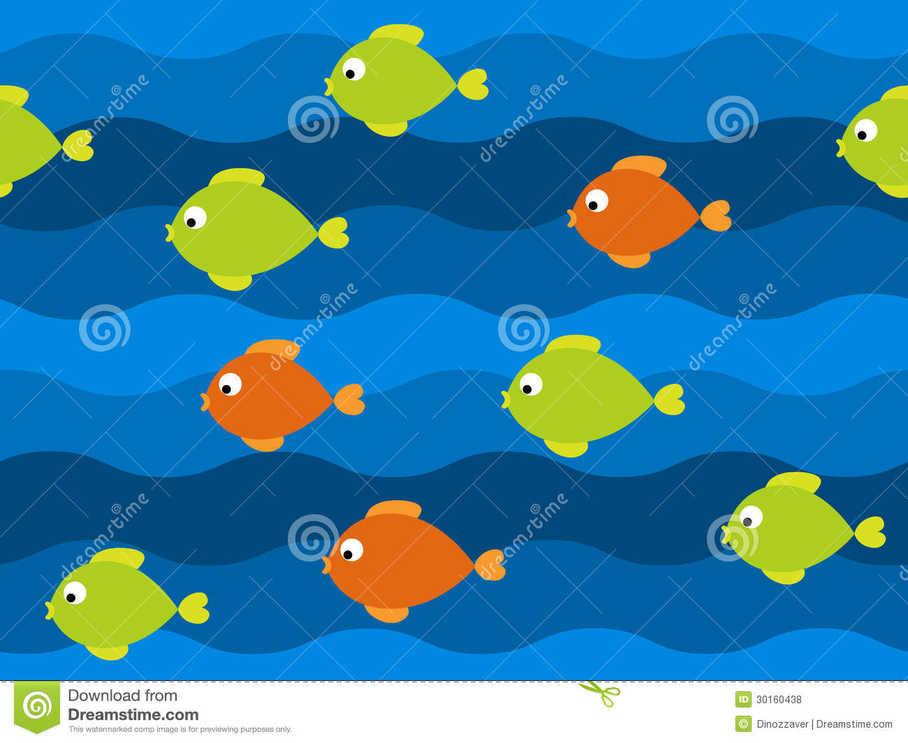 Free Vector Patterns for Fish
