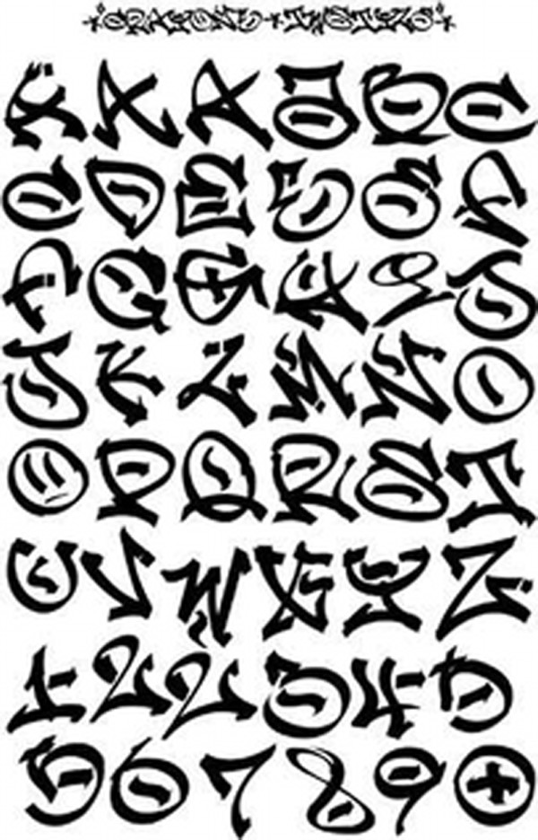 18 Graffiti Alphabet Fonts Download Images