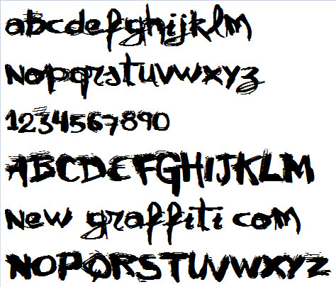 Graffiti Fonts Free Download