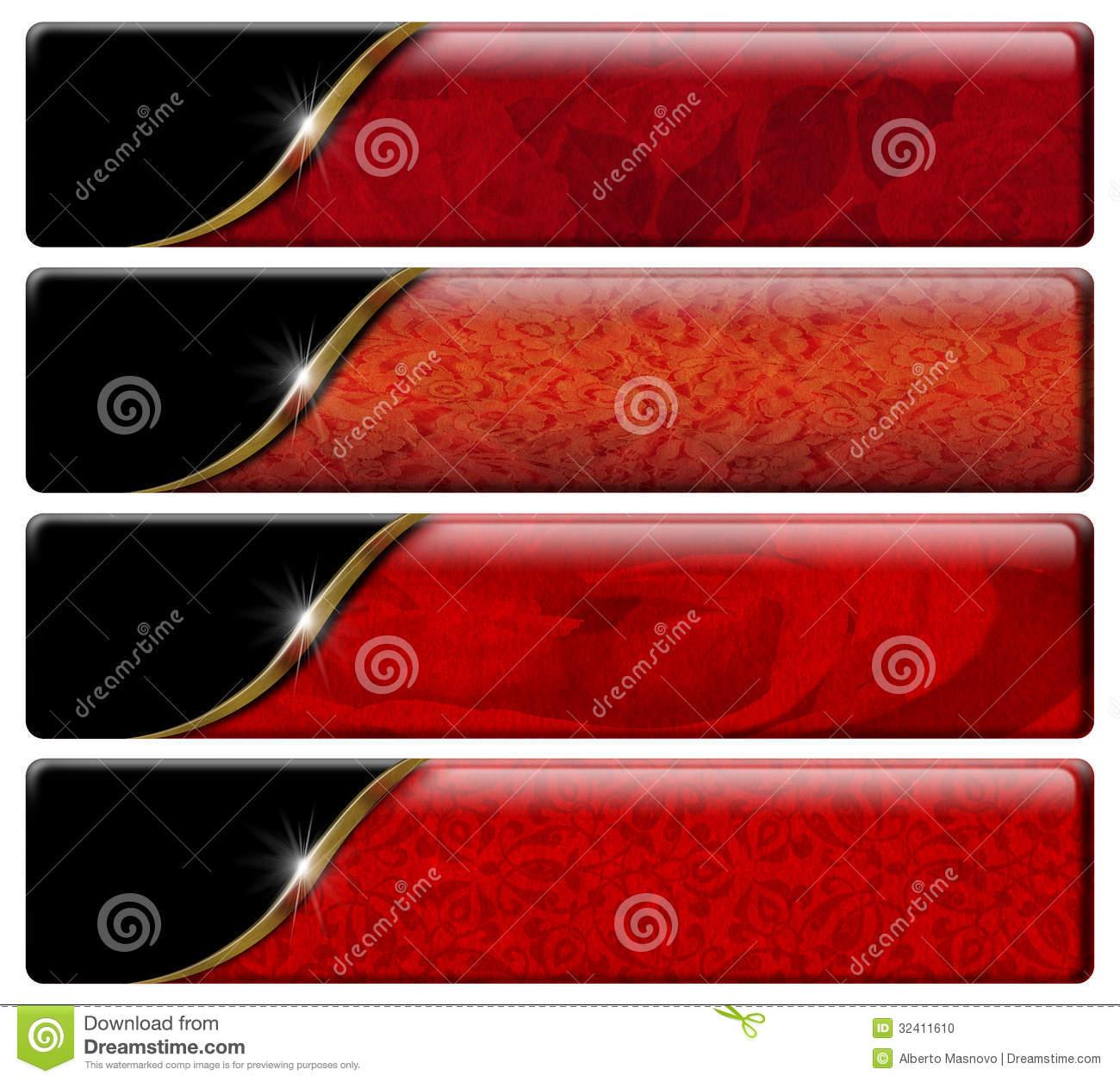 9 Comet Trail Header Banner Design Images