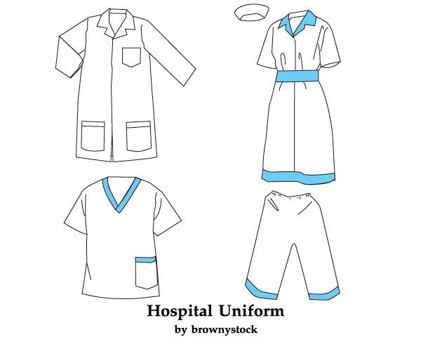 Hospital Uniform Vector Free Download