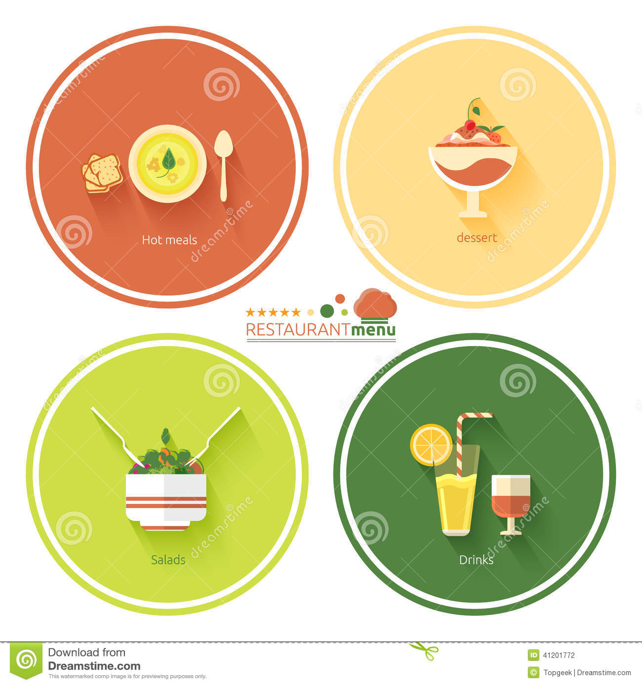 Icon Restaurant Menu Designs