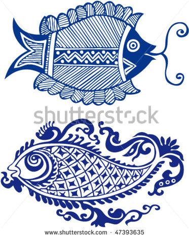 Indian Fish Design