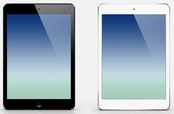 iPad Air Black and White