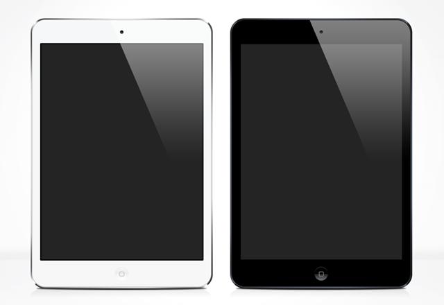 iPad Mini Vector Templates
