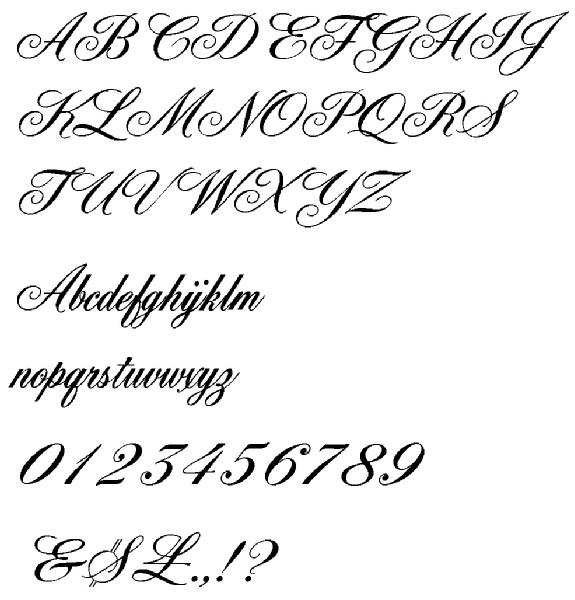 Lettering Tattoo Designs