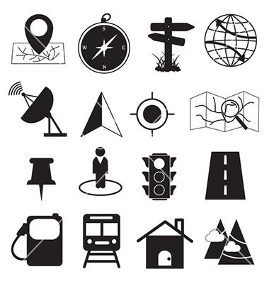 Map Destination Icon