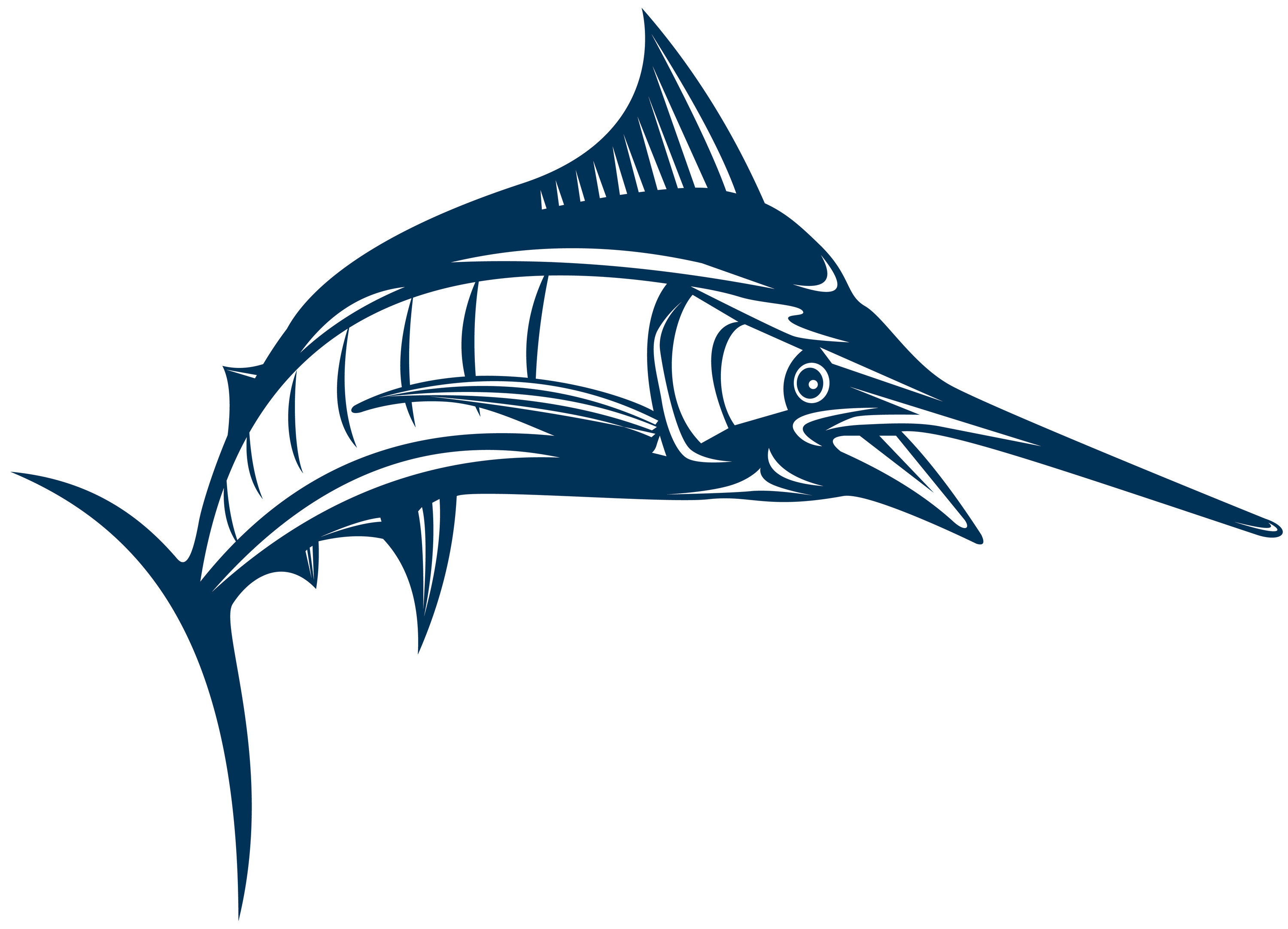 Marlin Fish Clip Art