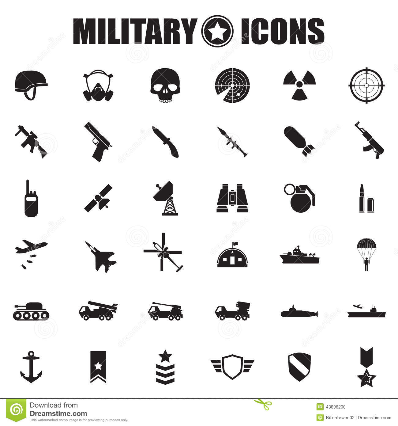 Military Icons and Symbols