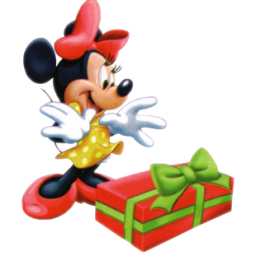 Minnie Mouse Christmas Clip Art