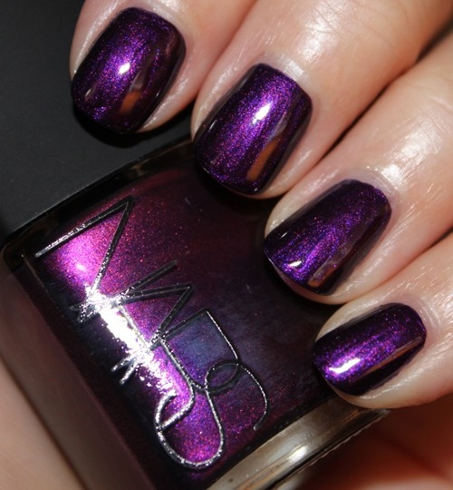 10 Purple Nail Polish Designs Images