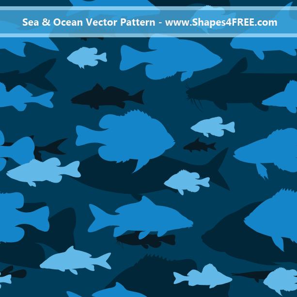 Ocean Fish Pattern
