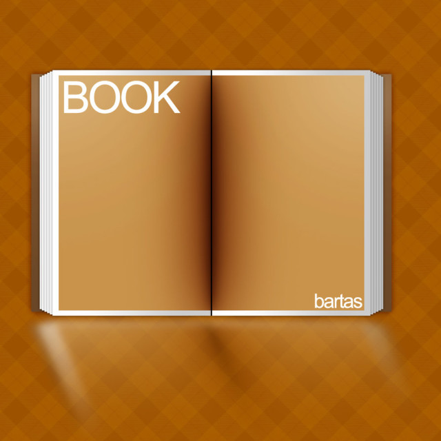 Open Book Template Free