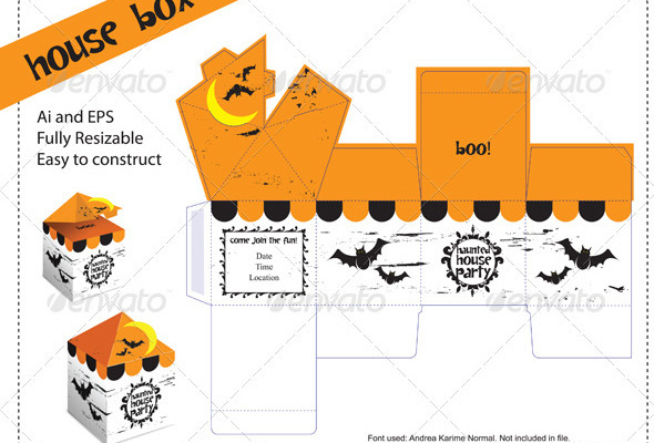 Package Design Templates Boxes