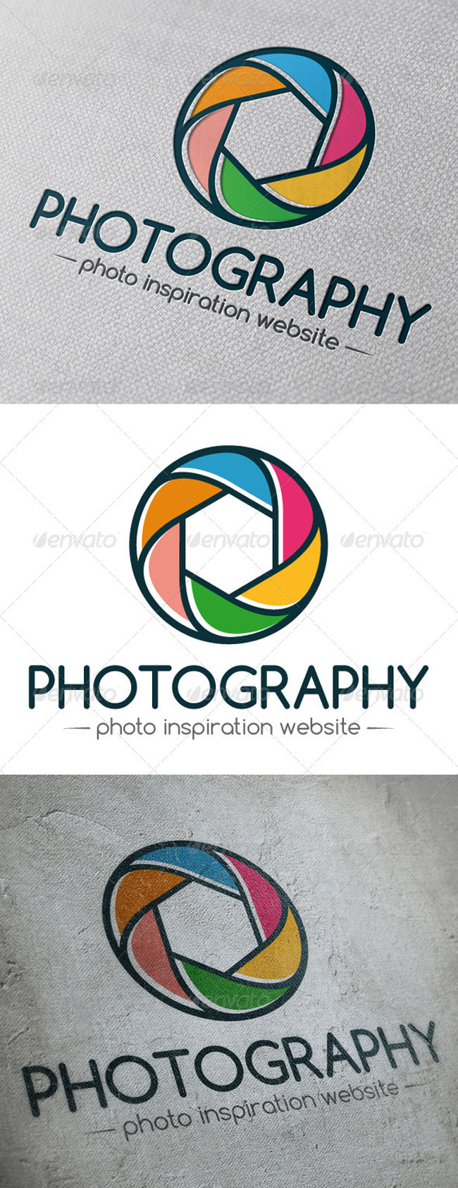 5 Photography Logo Design Templates Images
