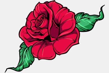 Photoshop Rose Flower