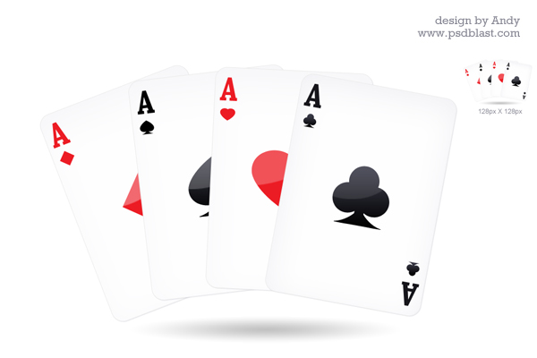 11 PSD Playing Card Symbols Images
