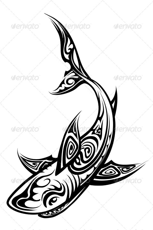 12 polynesian tribal designs vector images vector hawaiian tattoo designs polynesian shark. Black Bedroom Furniture Sets. Home Design Ideas