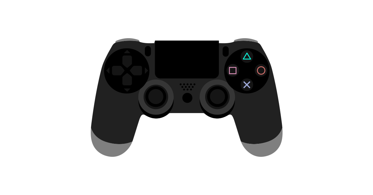 11 PS4 Video Game Controller Vector Images - PS4 ...