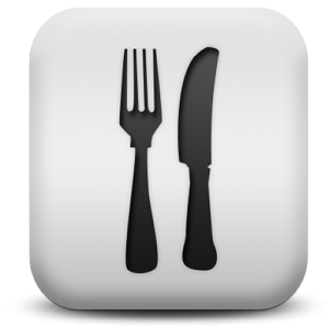 8 Food Menu Icons Images