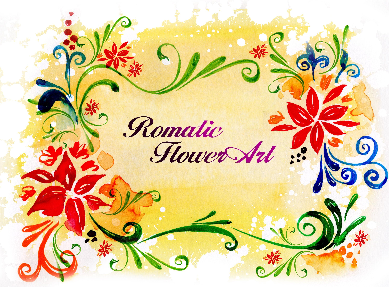 Romantic Flower Art