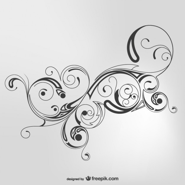Simple Swirl Design Vector