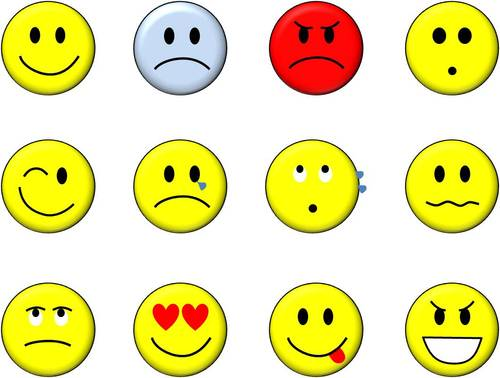 Smiley-Face Emoticons Symbols